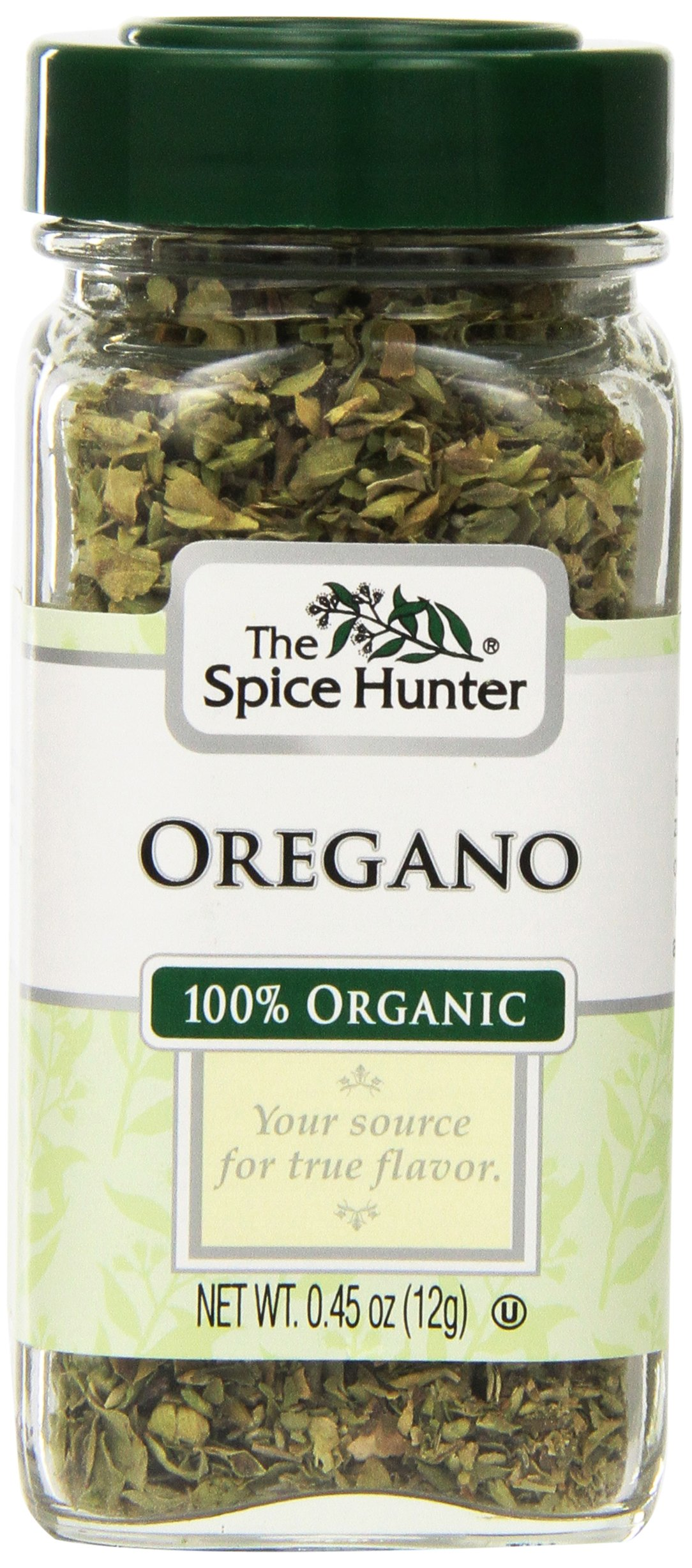Spice Hunter Spices, Organic Oregano, 0.45 Ounce (Pack of 6)