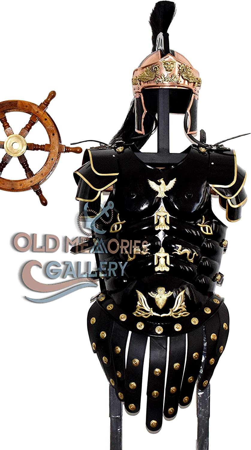 Old Memories Gallery Medieval Romano Armadura Muscle Armor Cuirass ...