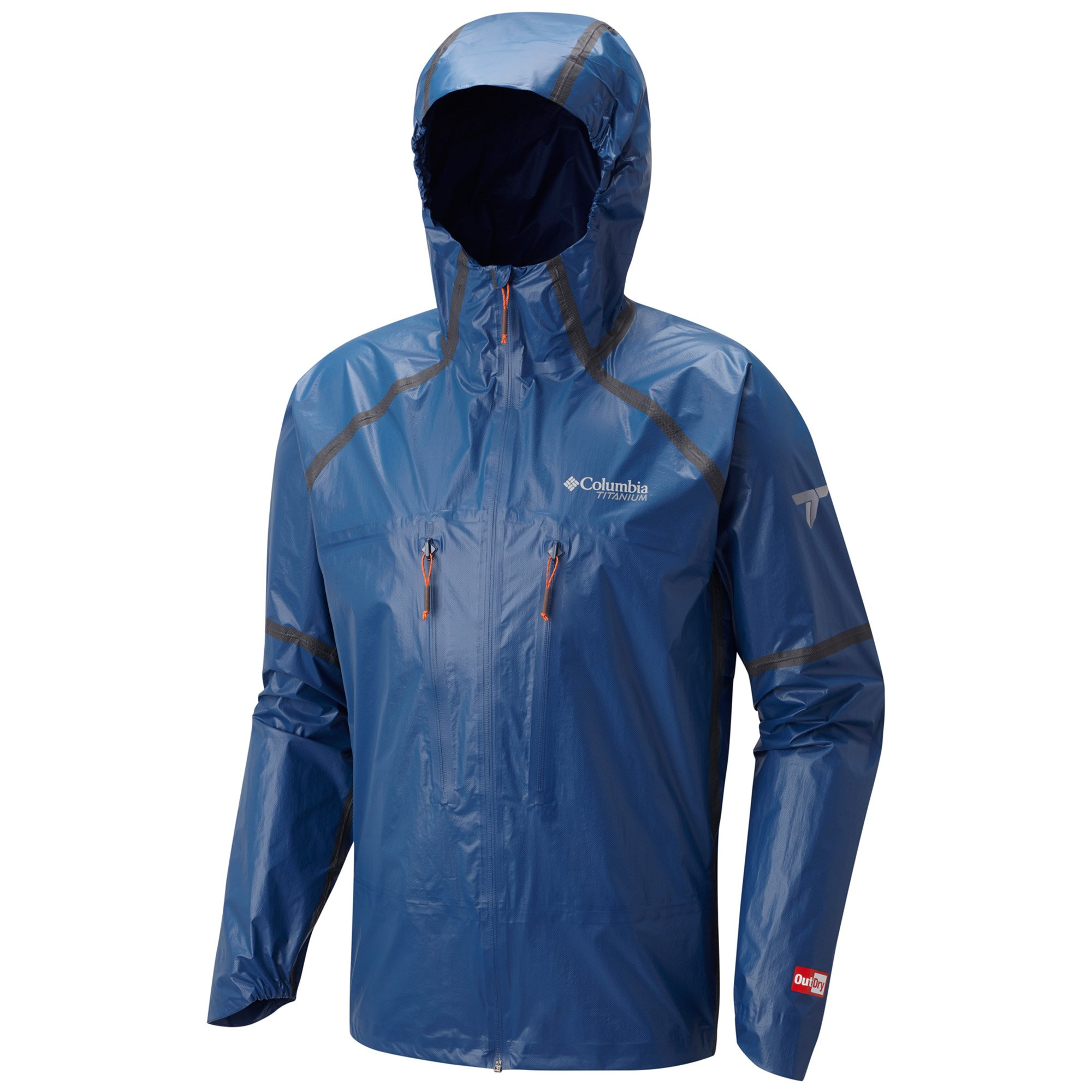 Columbia Men's Outdry Ex Featherweight Shell Large Carbon by Columbia