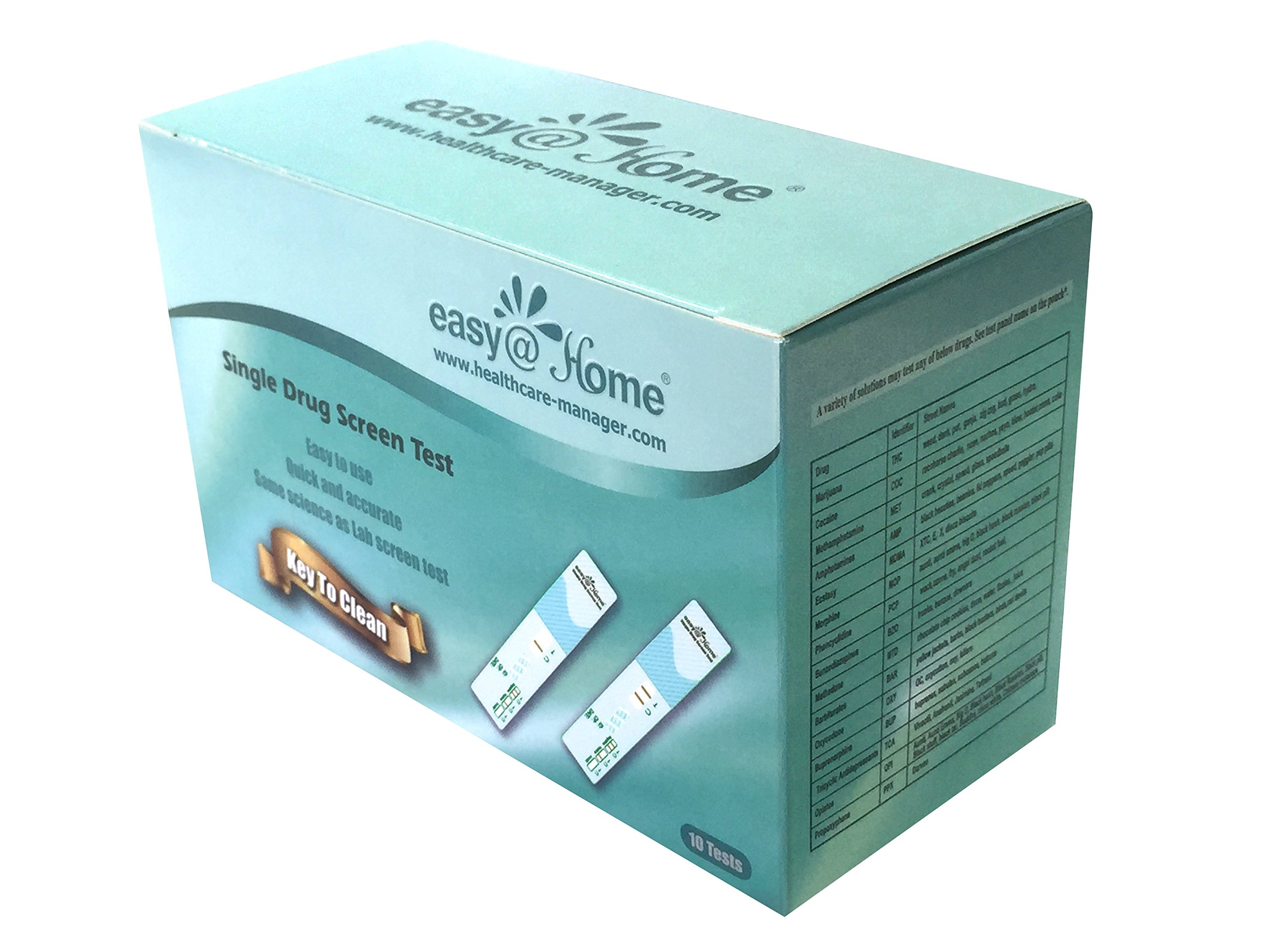 10 Pack Easy@Home Spice Test - Instant K2 Drug Test - Synthetic Marijuana Test Kit by Easy@Home (Image #5)