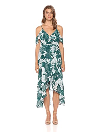 bardot womens garden party dress floral print extra small - Garden Party Dress