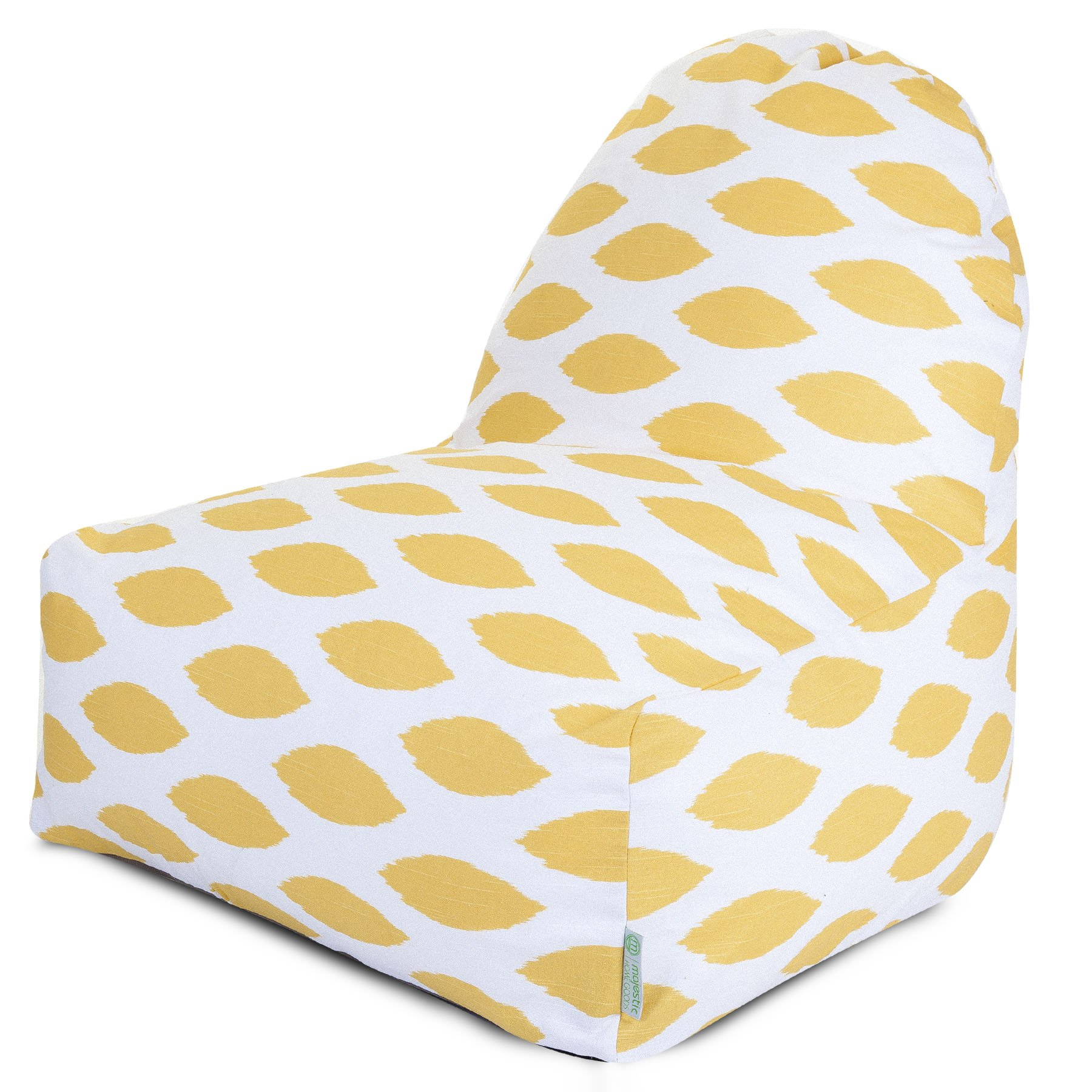 Majestic Home Goods Yellow Alli Kick-It Chair
