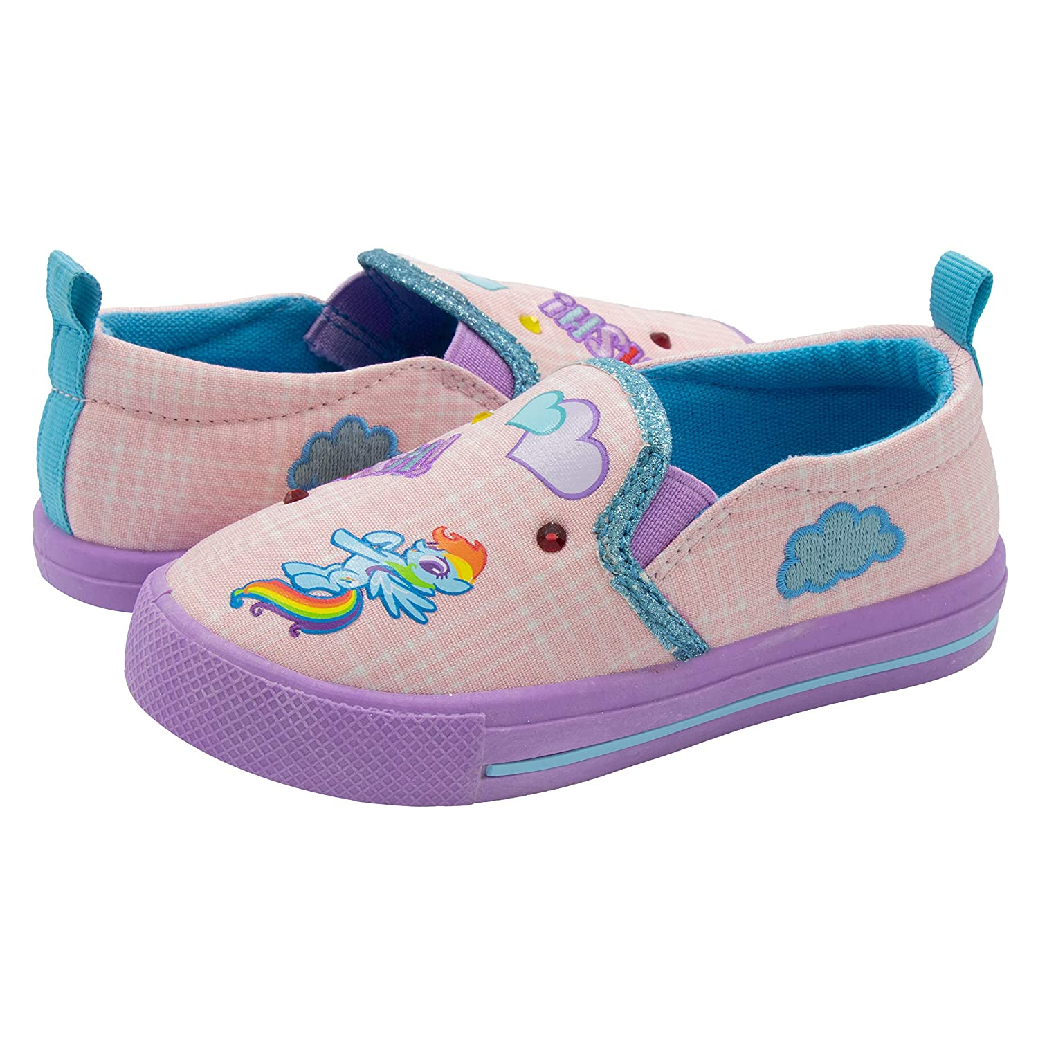 Amazon.com: My Little Pony - Zapatillas para niña con diseño ...