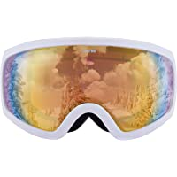 Traverse Sports 2552 Varia Ski, Snowboard, and Snowmobile Goggles, Snowcap with Citrine Revo Gold Lens