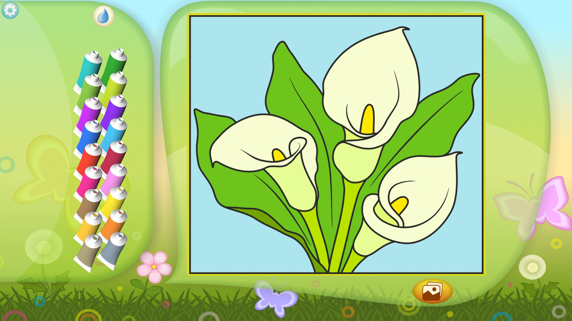 Amazon.com: Color by Numbers - Flowers +: Appstore for Android