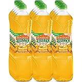 Bonafont Juizzy, Agua Fresca Con Jugo Natural de Naranja, 1.5 litros, 12 Pack