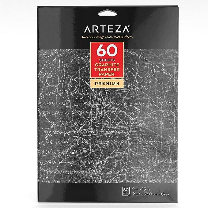 26 opinioni per ARTEZA Carta Carbone, Carta Copiativa In Grafite, Confezione Da 60 Fogli 22,9x33