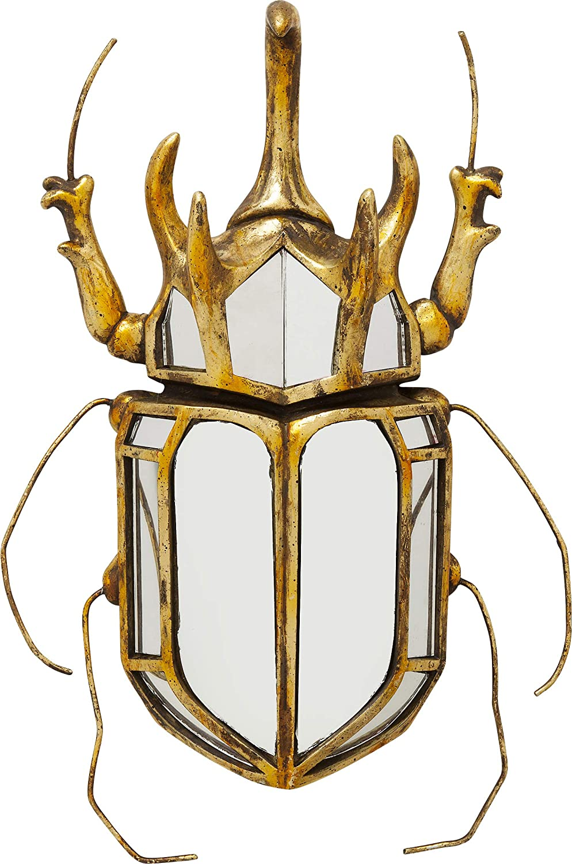 Kare Wall Decor Mirror Scarab