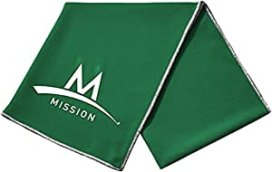 MISSION Enduracool Techknit Cooling Towel (Large, Forest Green)