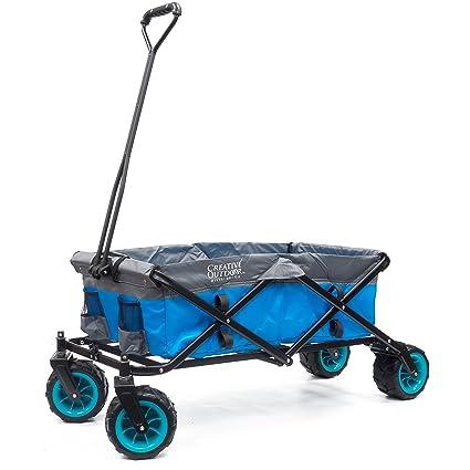 Amazon.com  Creative Outdoor Distributor All-Terrain Folding Wagon ... 9651f13dd781