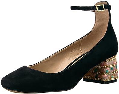 c21c2f44f77 Amazon.com  The Fix Women s Morgan Block-Heel Ankle Strap Dress Pump ...
