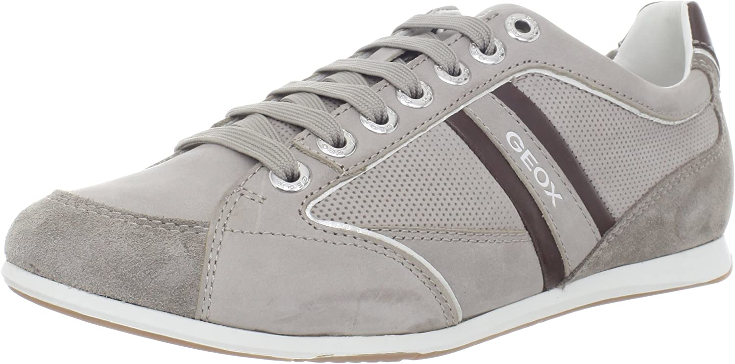 lino Ashley Furman Parásito  Geox U Andrea P, Men's Low-Top Sneakers: Amazon.co.uk: Shoes & Bags