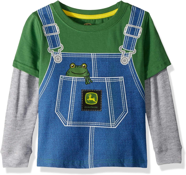 John Deere 2 - Camiseta térmica para niño: Amazon.es: Ropa y accesorios
