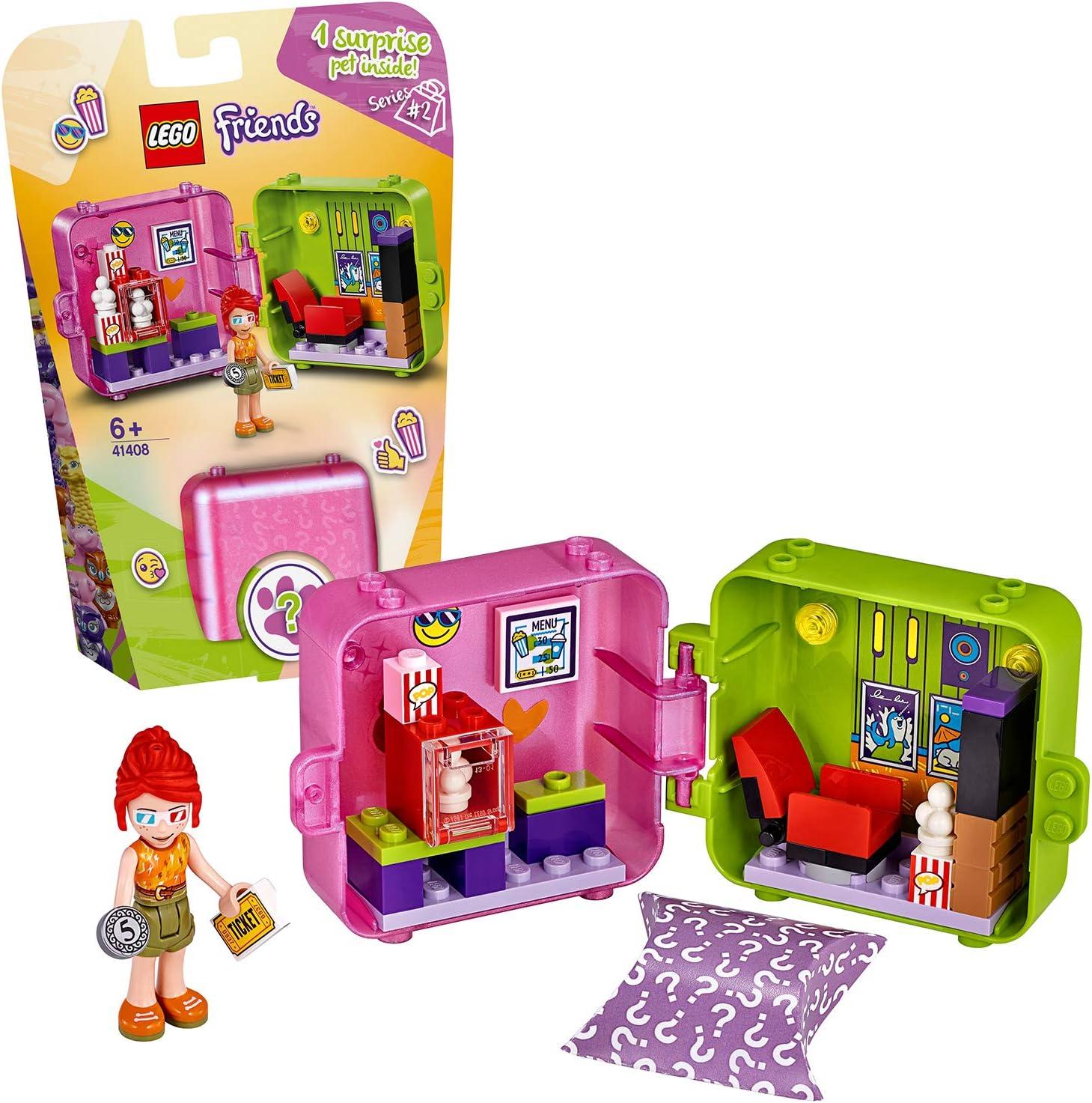 LEGO Friends - Cubo Tienda de Juegos de Olivia Caja de Juguete, con Accesorios y Mini Muñeca, Juguete de muñecas recomendado a partir de 6 años, Multicolor , color/modelo surtido: Amazon.es: Juguetes