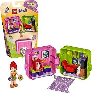 LEGO Friends - Cubo Tienda de Juegos de Andrea Caja de Juguete, con Minifigura de Andrea y
