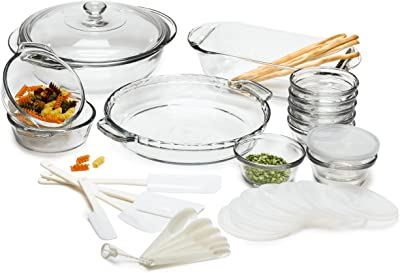 Anchor Hocking Expressions Glass Cookware