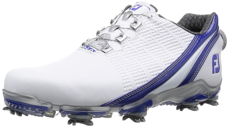 [フットジョイ] FootJoy ゴルフシューズ DNABoa B016NQS736 24.5 cm Wide ホワイト/ブルー