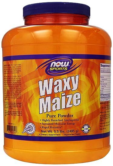 Amazon.com: NOW Sports Waxy Maize Powder, 5.5-Pound: Health ...