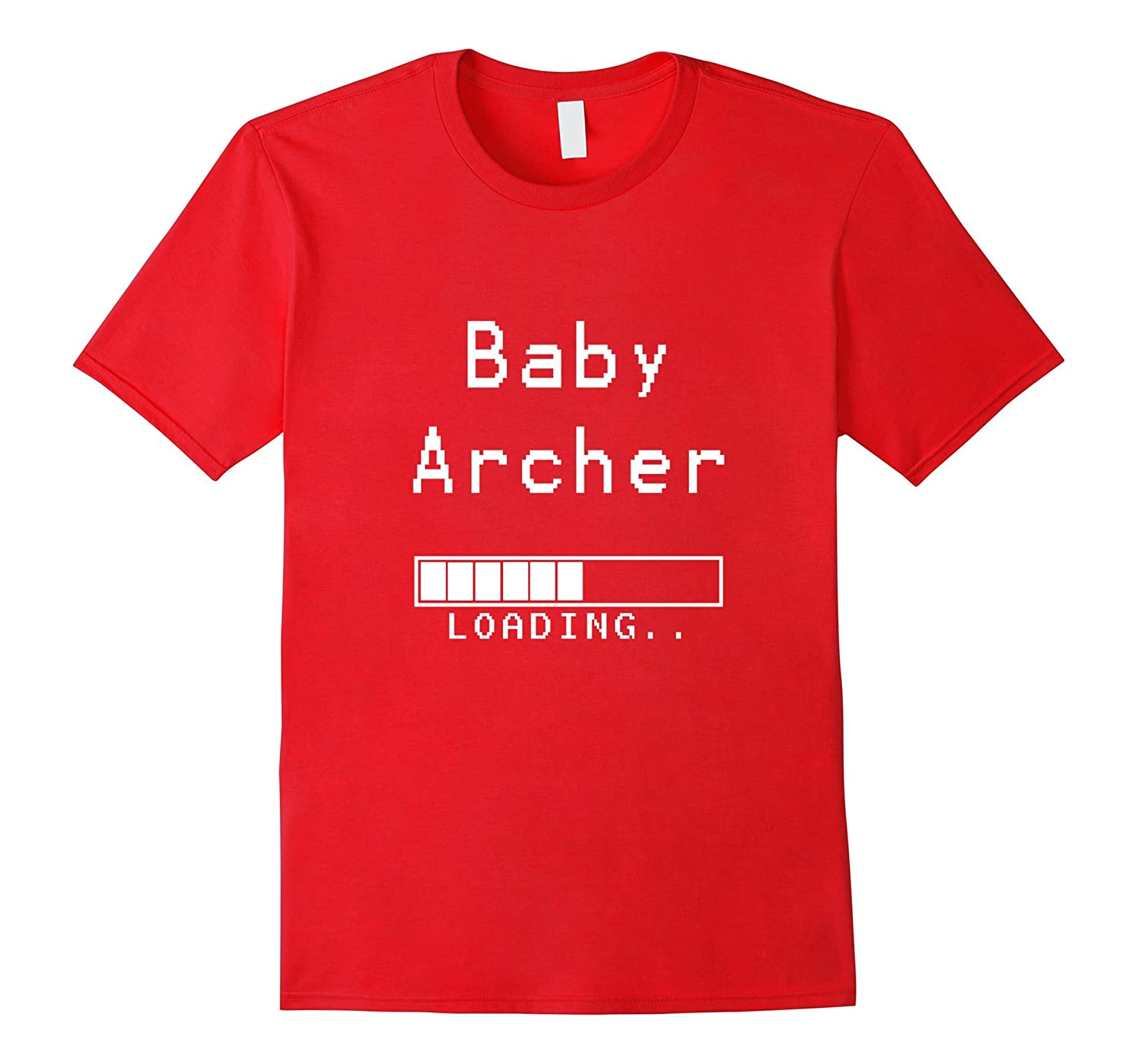 Baby Archer Loading t shirt - Gamer Pregnancy Announcement-TH