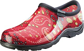 product image for Sloggers 5104RD06 Waterproof Shoe, 6, Paisley Red