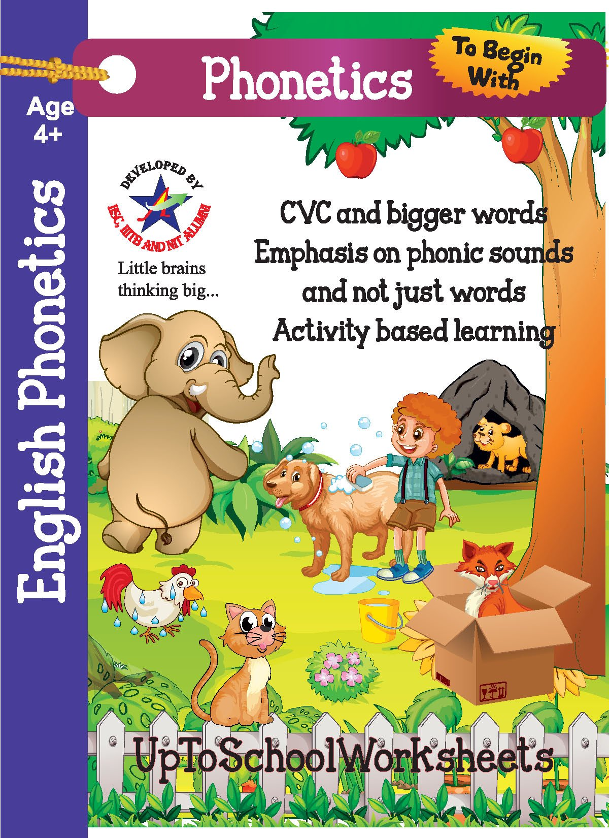 Amazon.in: Buy English Phonetics Worksheets for Kids : CVC ...