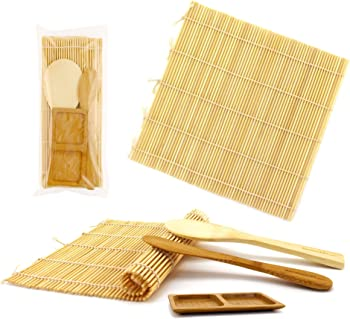 BambooMN Deluxe Sushi Making Kit