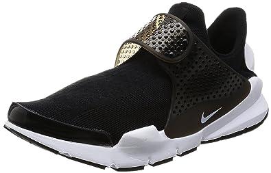 1f725ef3892b4 Amazon.com | Nike Men's Sock Dart KJCRD Black/White Running Shoe 10 ...