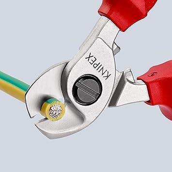 165 mm VDE-Isolé Knipex Câble Ciseaux