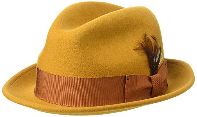 f9249425a3cdd Bailey of Hollywood Men s Tino Fedora Trilby Hat