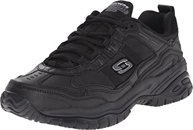 Descolorar Humilde estornudar  Amazon.com: Skechers for Work Men's Soft Stride Mavin Slip Resistant  Athletic Oxford: Shoes
