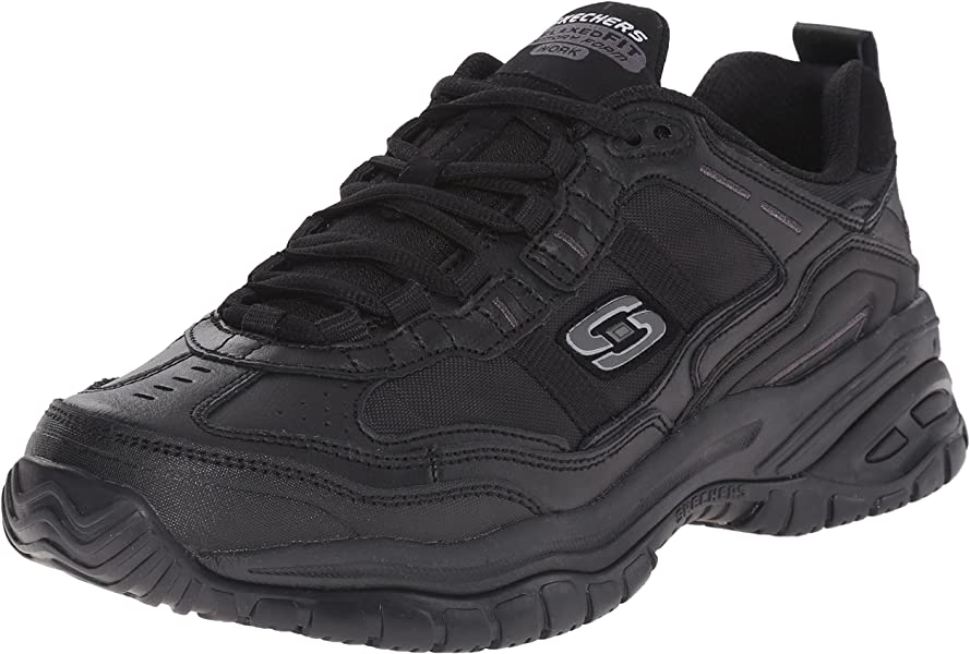 1a5d5de00f9f Amazon.com  Skechers for Work Men s Soft Stride Mavin Athletic ...