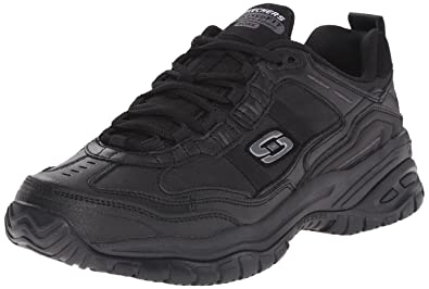 e873e4f9089e50 Amazon.com: Skechers for Work Men's Soft Stride Mavin Slip Resistant ...