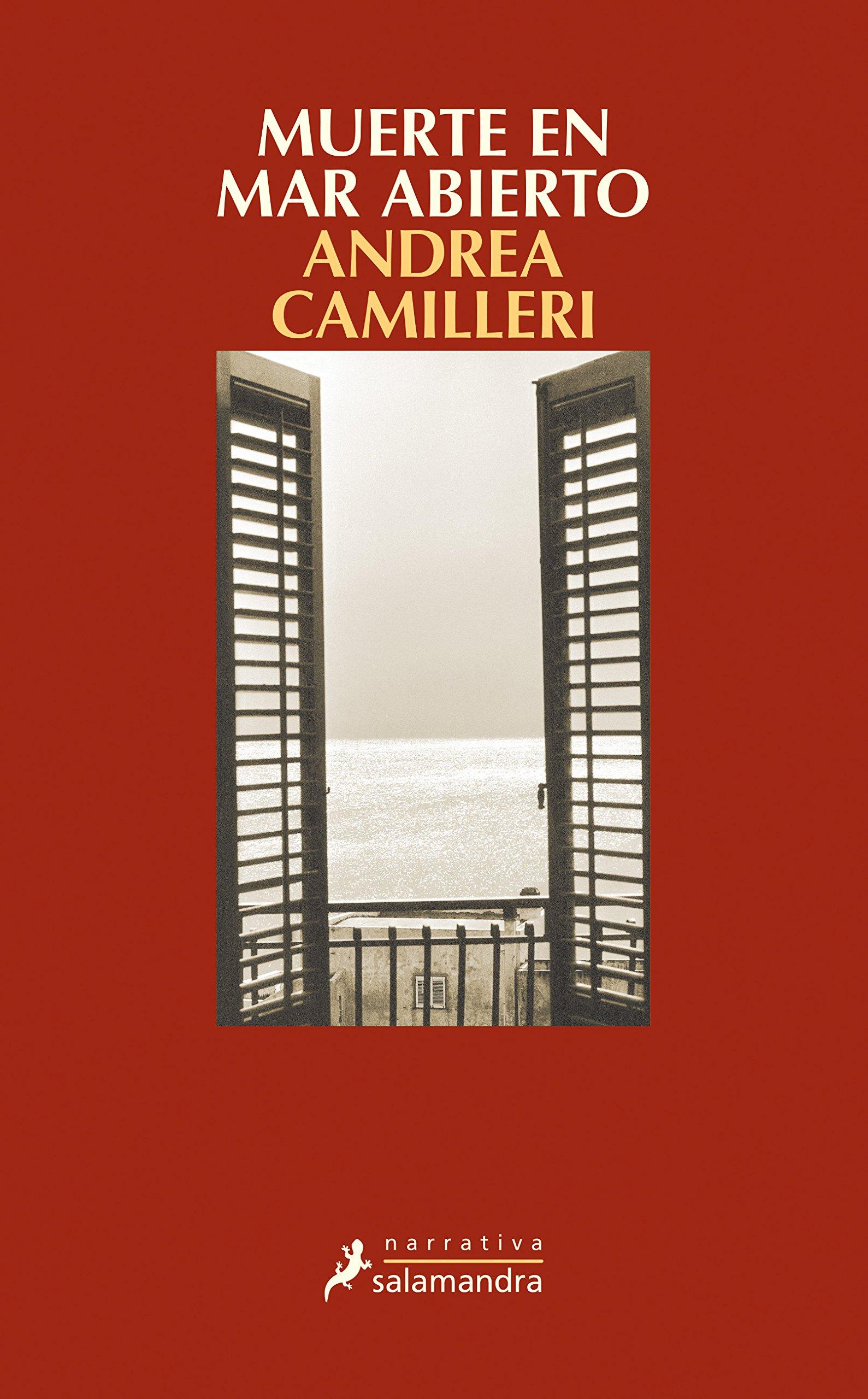 MUERTE EN MAR ABIERTO (Narrativa): Amazon.es: Andrea Camilleri, Carlos  Mayor Ortega: Libros