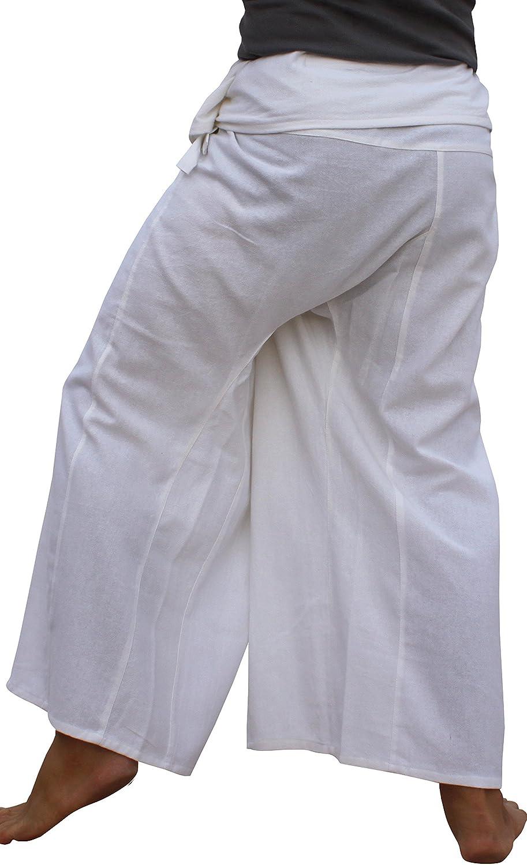RaanPahMuang Warm Cotton Fisherman Wrap Pants Print Long Chinese Dragon Plus Size variant30510AMZ