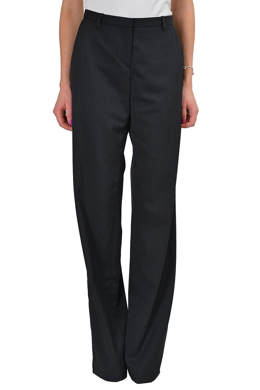 "Hugo Boss ""Tamuna2"" Wool Black Striped Women's Dress Pants US 4 IT 40"