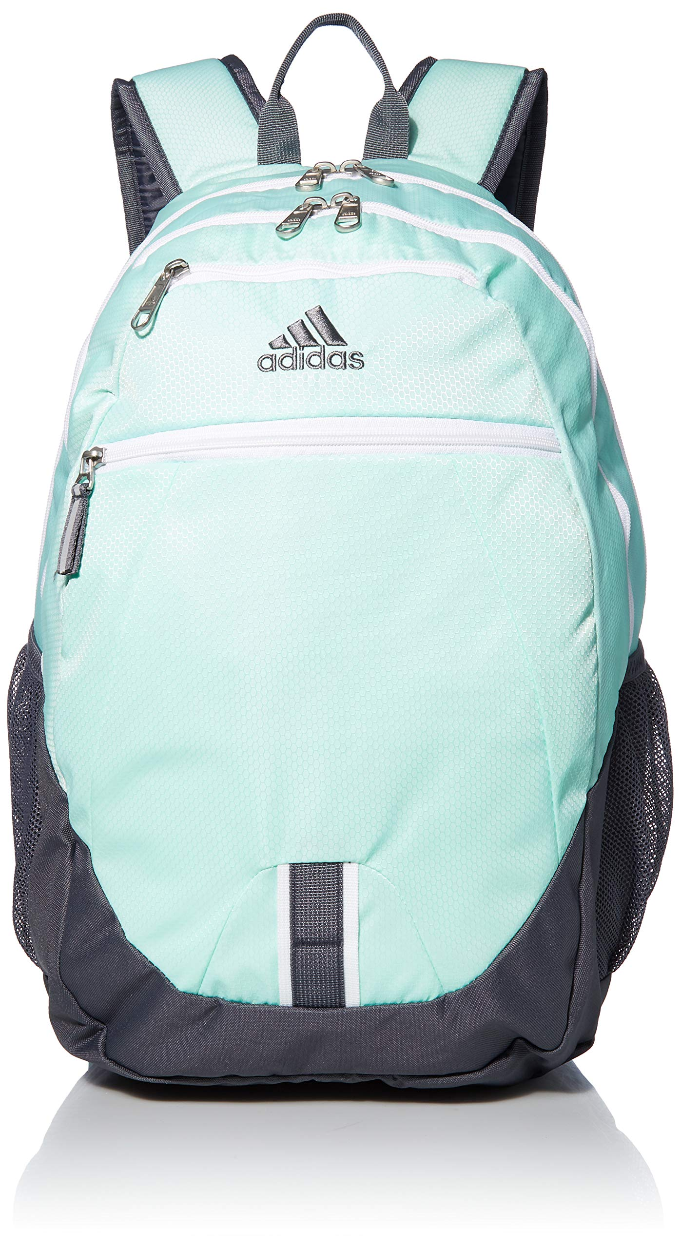 adidas Unisex Foundation Backpack, Clear Mint/White/Onix, ONE SIZE by adidas