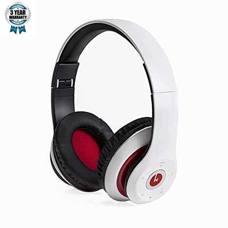 Hobao H6 Bluetooth auriculares, Bluetooth 4.0 estéreo inalámbrico auriculares con micrófono integrado, aislamiento de