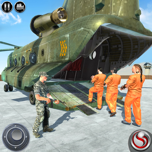 4 X 4 Off Road Driving - US Army Prisoner Transport: OffRoad Driving Games