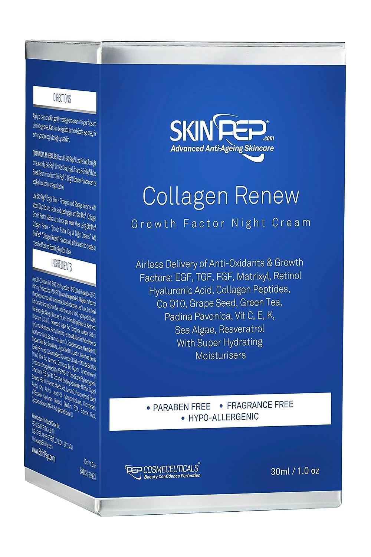 Amazon.com: skinpep Colágeno renovar factor de crecimiento ...