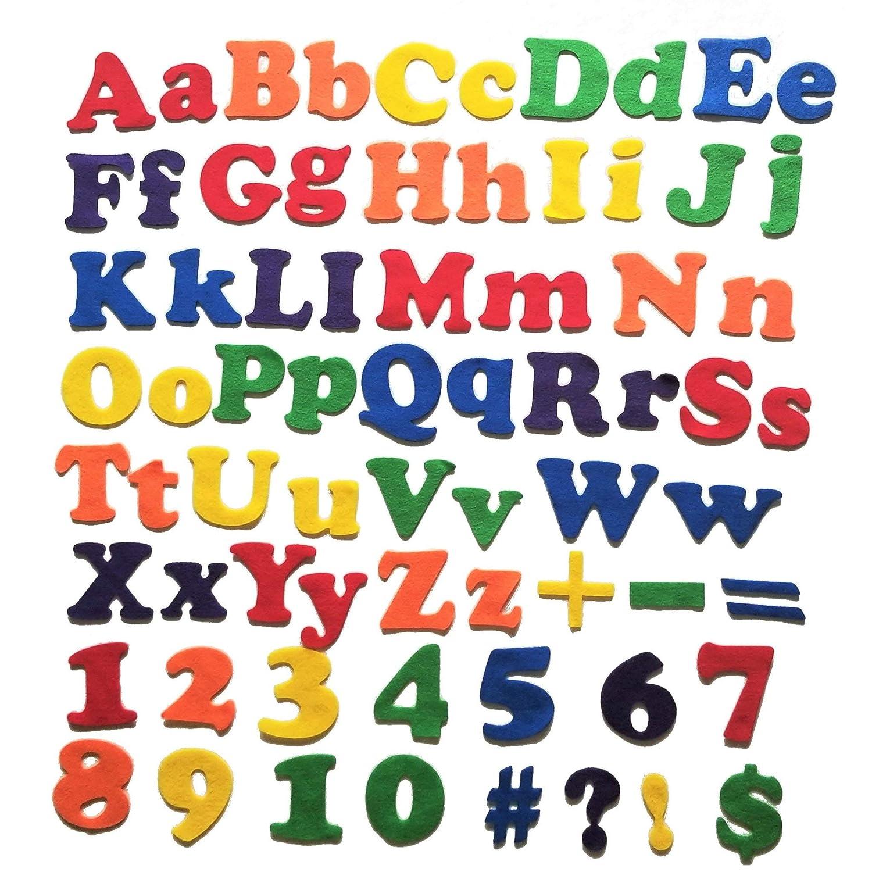 Wildflower Toys Felt Alphabet ABCs