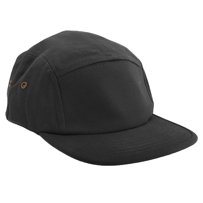 efce3b3e Beechfield Canvas 5 Panel Classic Baseball Cap (One Size) (Black) at Amazon  Men's Clothing store: