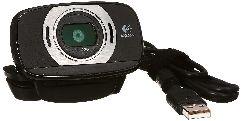 ウェブカメラの商品写真。USB type Aで接続するタイプ