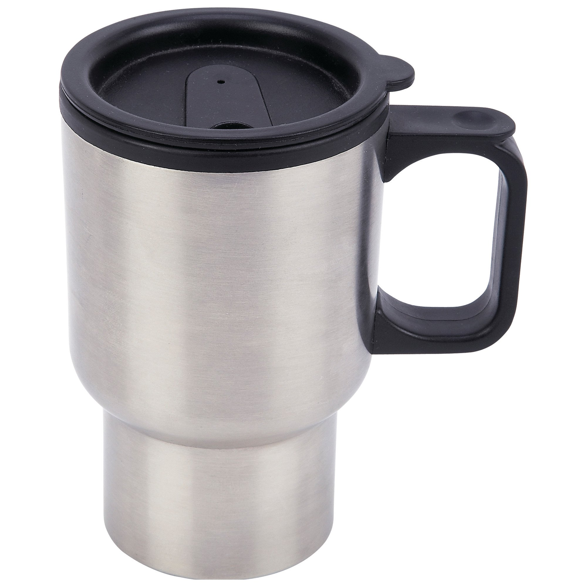 coffee travel mug stainless steel insulated 14oz cup thermos hot cold drink ebay. Black Bedroom Furniture Sets. Home Design Ideas