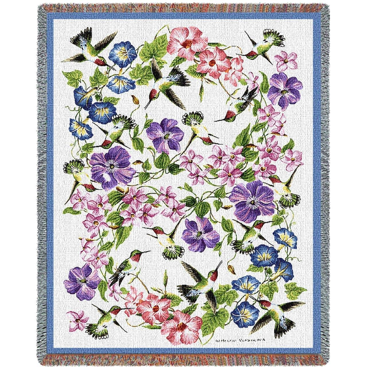 Pure Country Weavers ''Hummingbirds Blanket'' Tapestry Throw by Pure Country Inc. (Image #1)