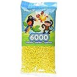 Perler Yellow Beads for Kids Crafts, 6000 pcs