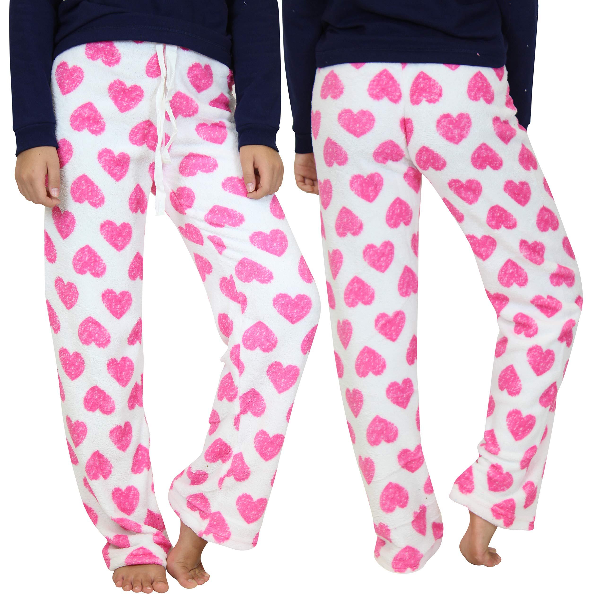 3 Pack:women'S Super-Soft Plush Fleece Pajama/Lounge Pants -