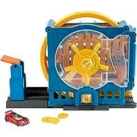 Hot Wheels Mattel Concesionario City Super Spin, GBF96, Multicolor