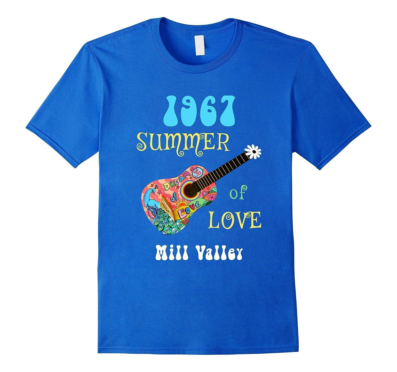 1967 Summer of Love Mill Valley Hippie T-shirt-CD