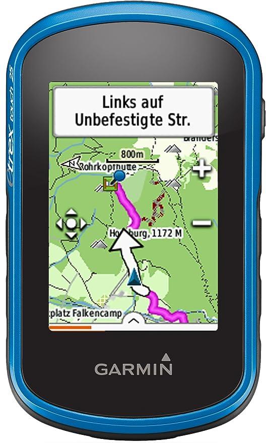 Garmin eTrex Touch 25 Fahrrad-Outdoor-Navigationsgerät, TopoActive Karte, GPS und GLONASS, 2,6 Zoll (6,6 cm) kapazitiver Farb