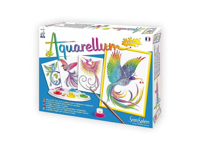 Distrifun Sento Loisirs créatifs Aquarellum Junior Oiseaux